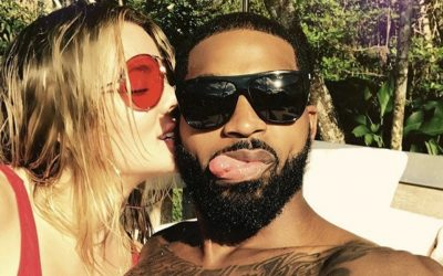 4 Things Khloe Kardashian & Tristan Thompson's Body Language Reveals About Their Relationship