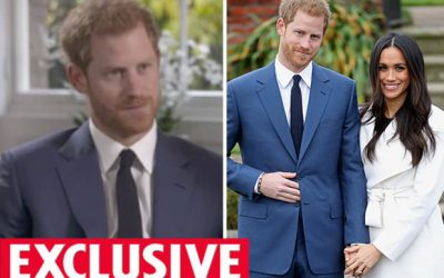 Prince Harry 'Nervous' Next to Meghan Markle After Engagement Announcement